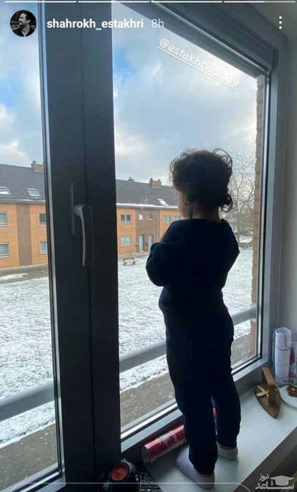 عکس جذاب دختر شاهرخ استخری