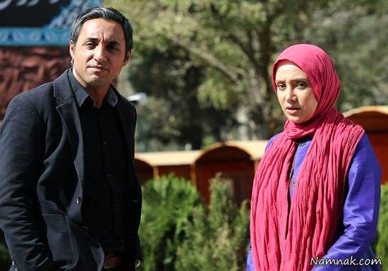 بهاره افشاری و امیرحسین رستمی در سریال آخرین بازی