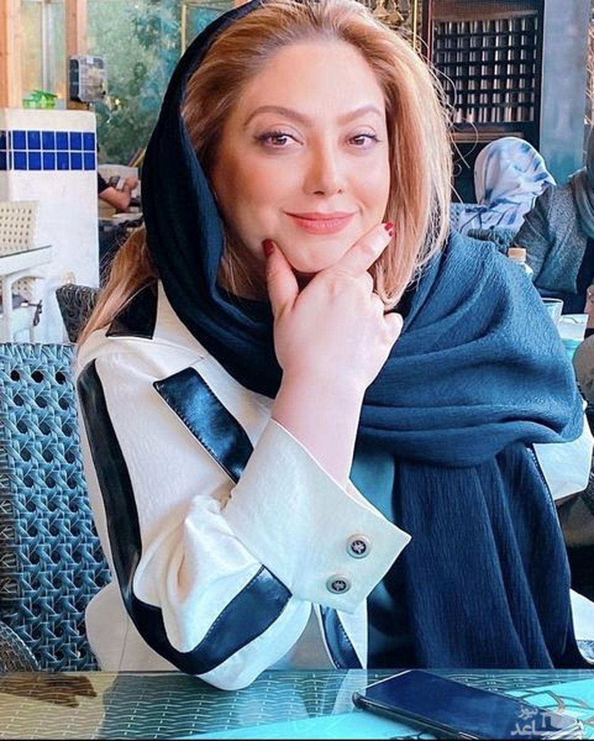 مریم سلطانی در رستوران لاکچری + عکس