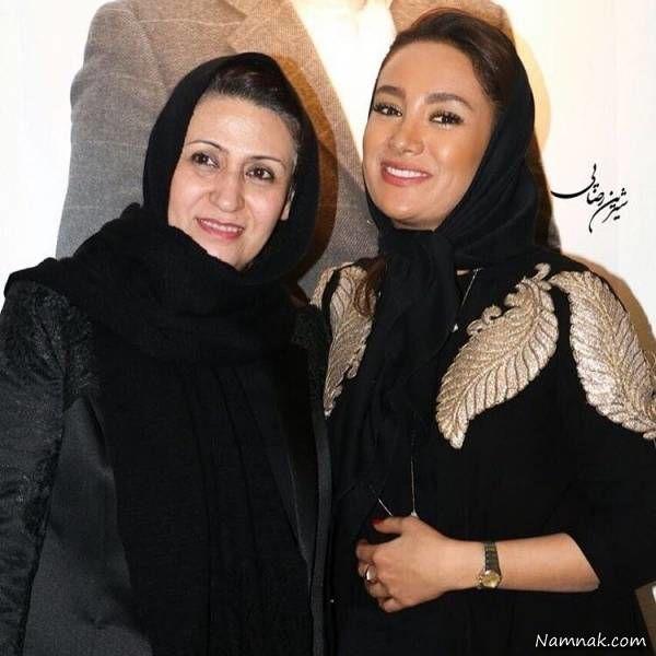 بهاره افشاری و مادرش