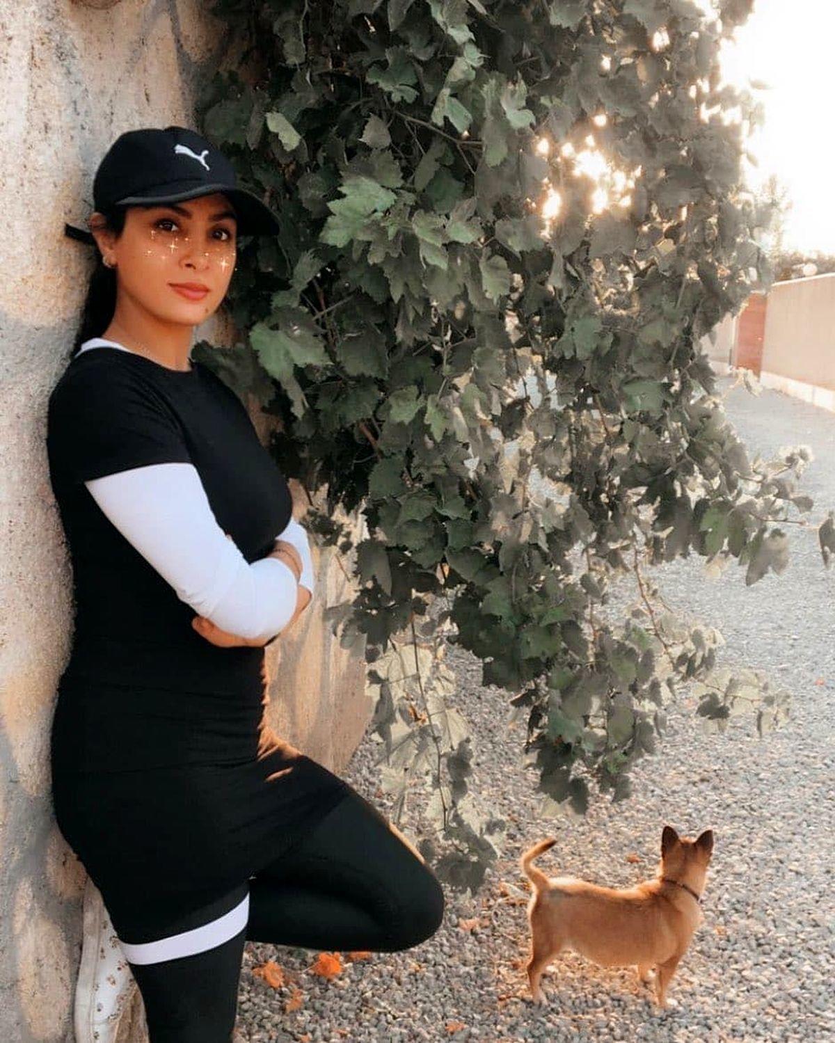 چالش رقص جدید حدیث تهرانی و همسرش در ولنتاین + فیلم
