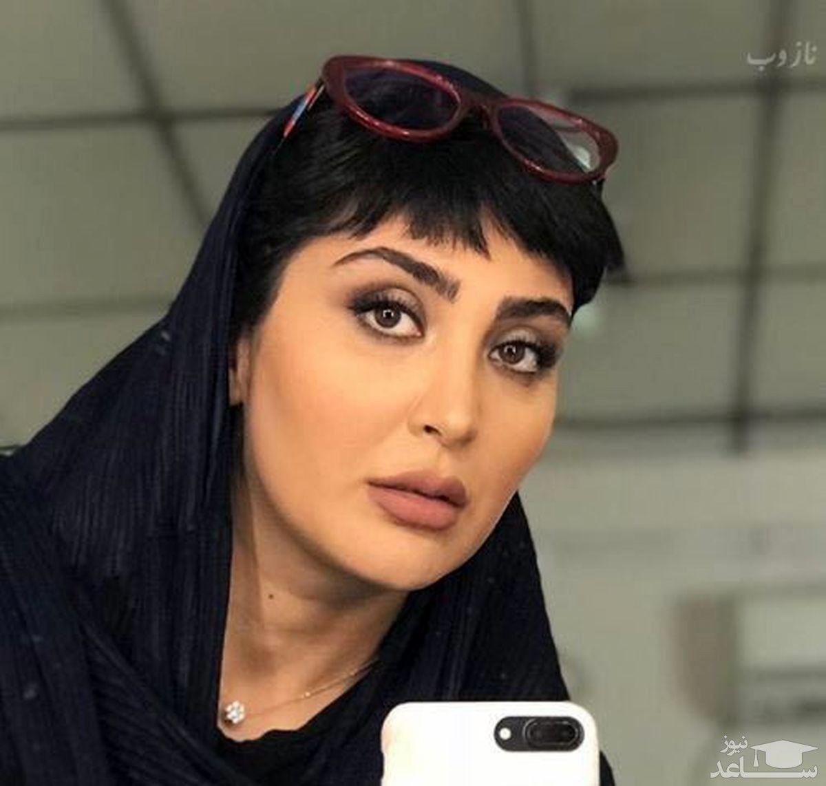 مریم معصومی | ارایش غلیظ خانم بازیگر جنجالی شد + عکس دیده نشده