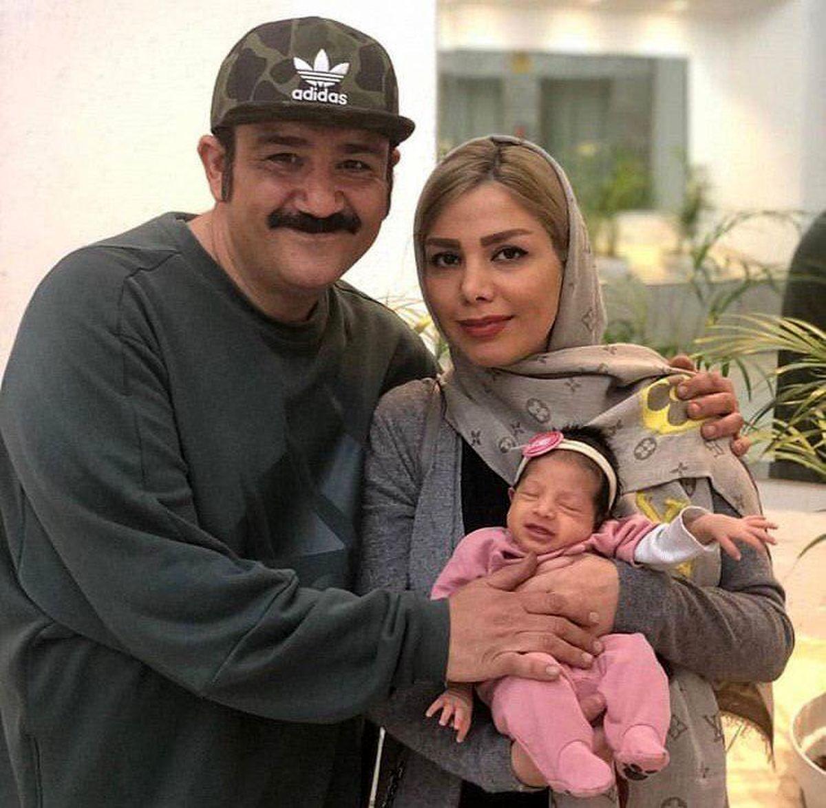 ماسک ست مهران غفوریان و همسرش + عکس دونفره