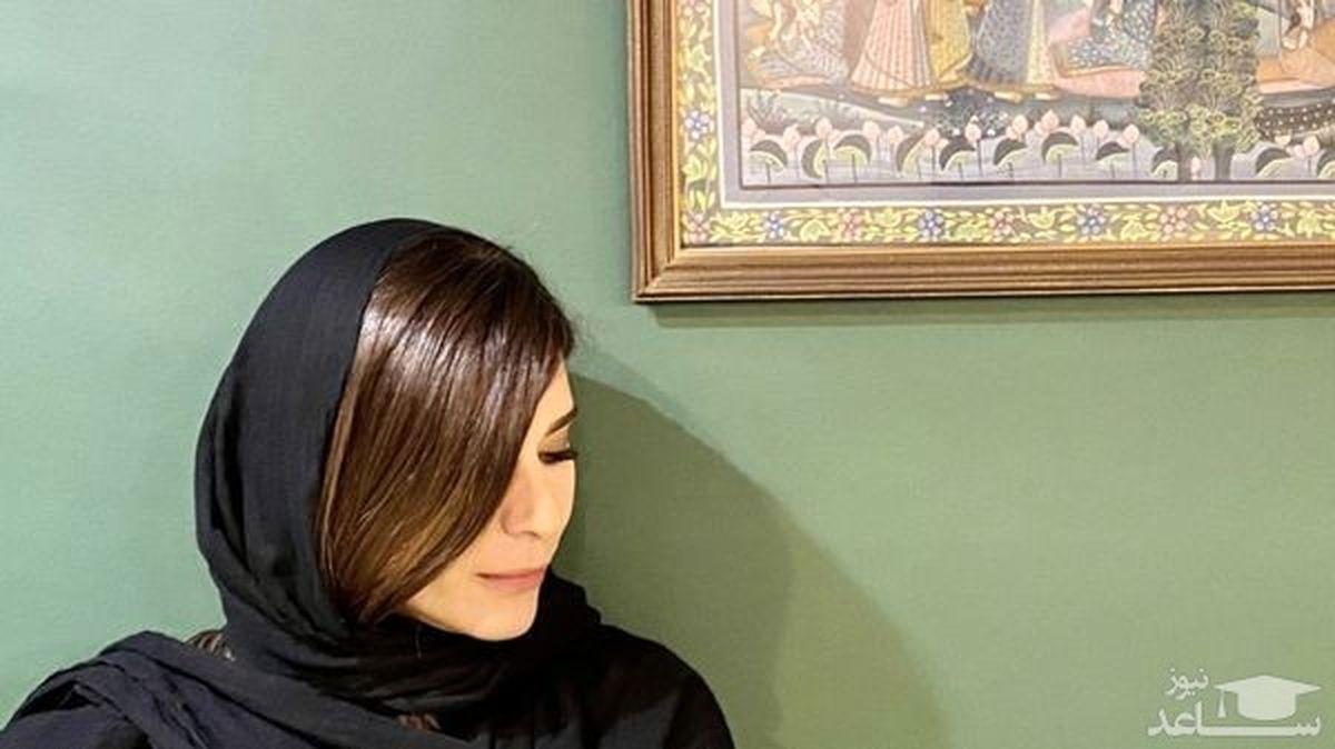 خالکوبی سحر دولتشاهی جنجالی شد + عکس