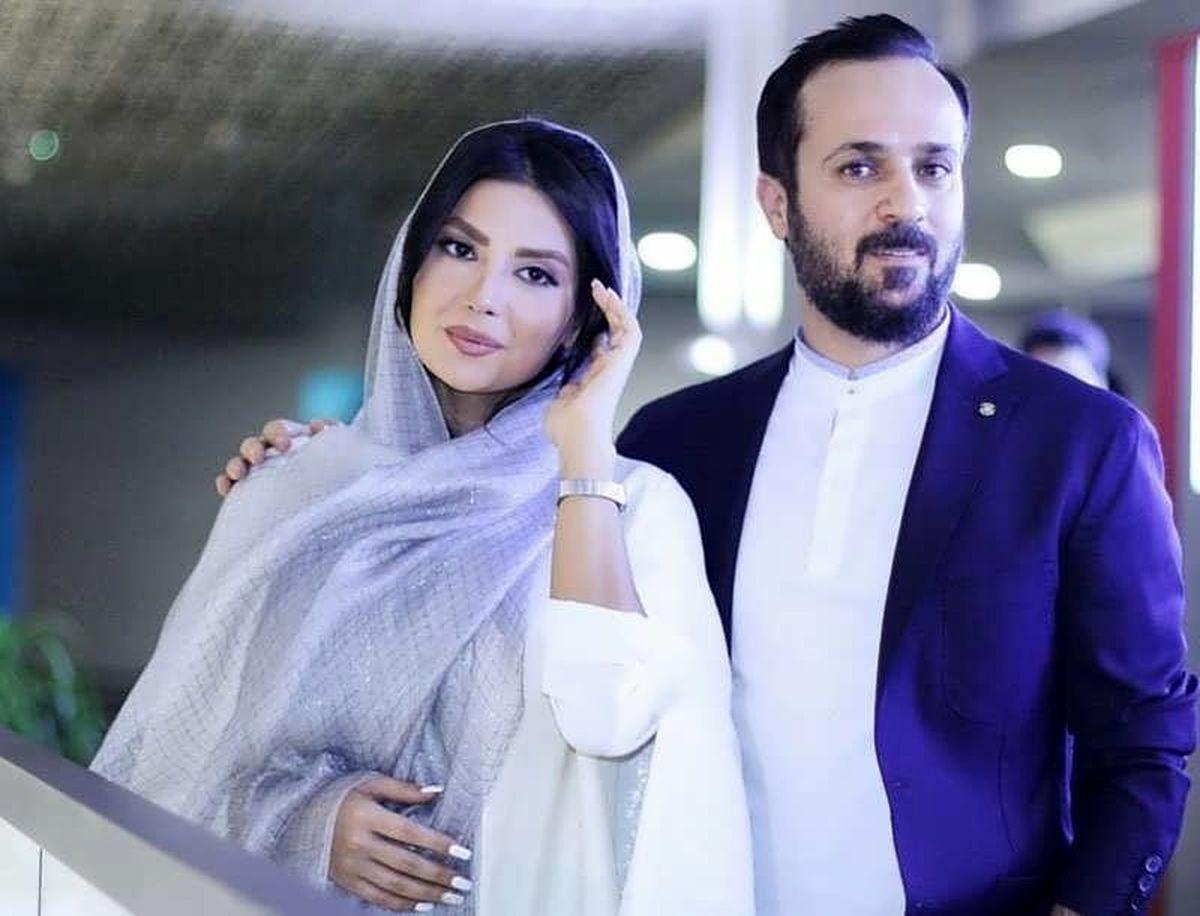 ظاهر جدید بازیگر معروف پایتخت و همسرش + عکس دو نفره