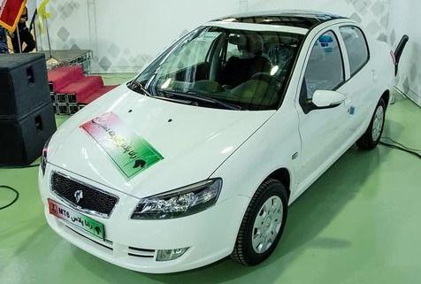 رونمایی از خودروی رانا پلاس با سقف شیشه ای + جزییات تغییرات جدید