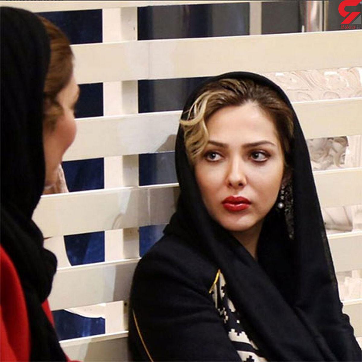 عکس بی روسری خانم بازیگر جنجالی شد + عکس